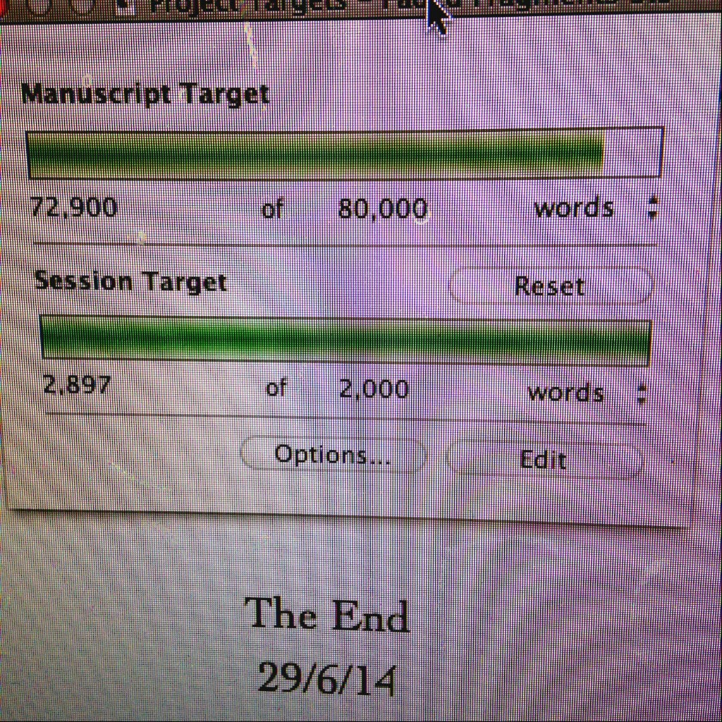 Leaping Over Hill: Second Draft Finished