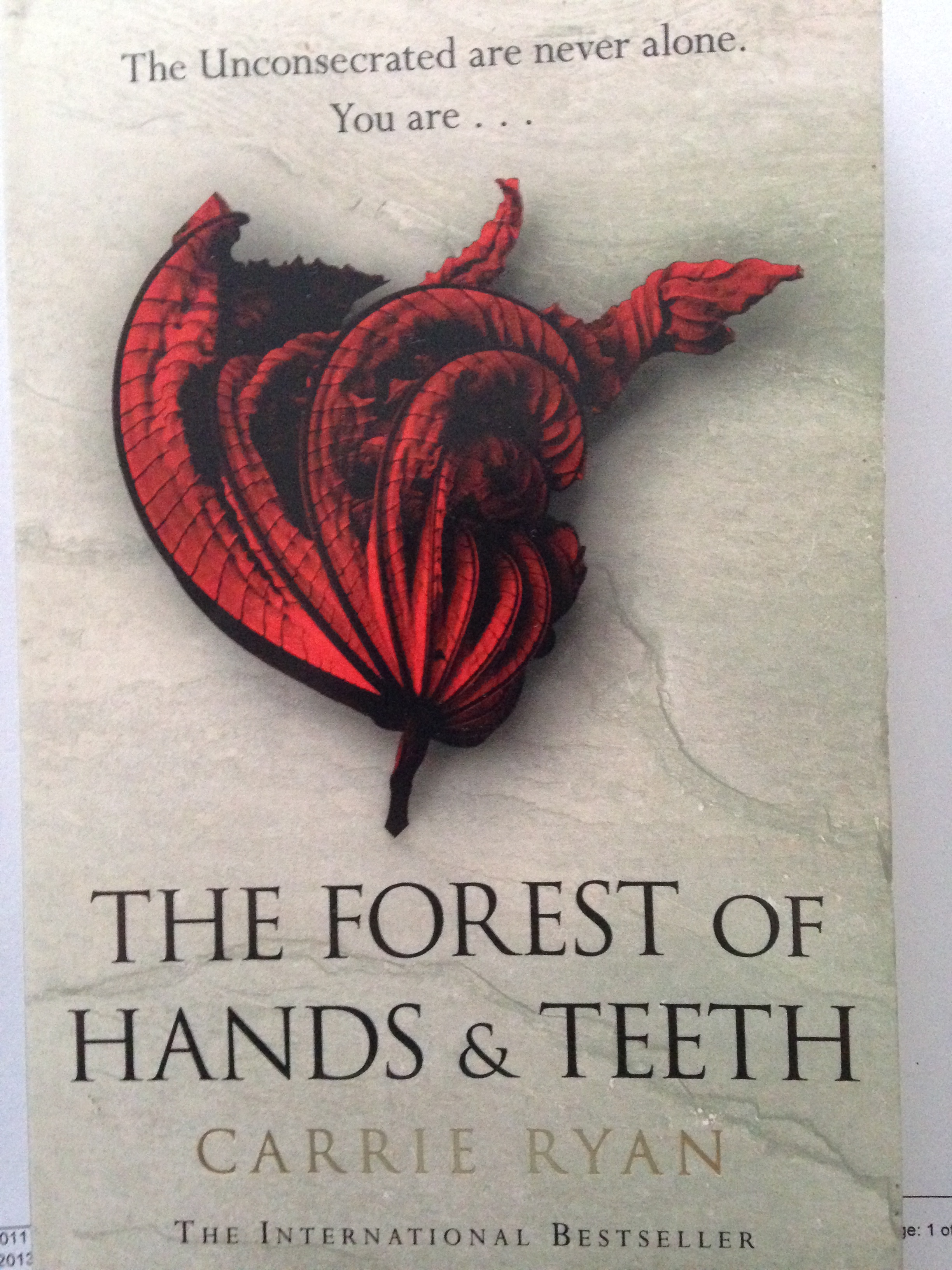 Book Review: The Forest of Hands and Teeth