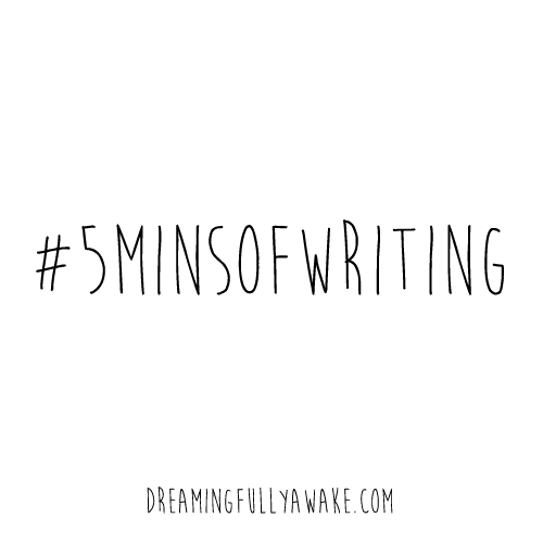 #5minsofwriting